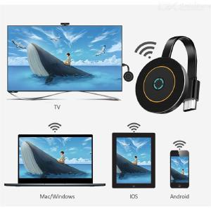 Mirascreen G10 HD 2.4G / 5G WiFi Screen Reflection Display Dongle DLNA Receiver Miracast Airplay for iOS Android PC Tablet PC