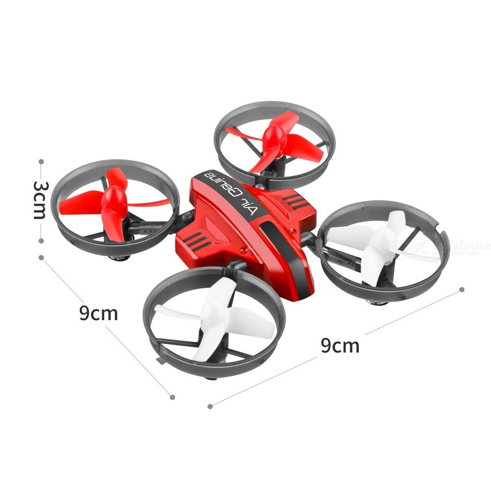 RC Drone Land-Air Remote Control Quadcopter With Headless Modes 3D Flip Mode Altitude Hold For Kids Beginners