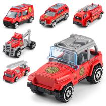 164-Mini-Alloy-Sliding-Fire-Truck-Car-Model-Educational-Toy-for-Kids