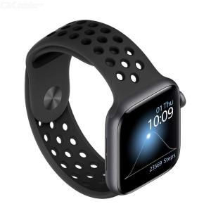 W55 1.54 Inch Large Smart Watch Fitness Tracker Watch With 24H Heart Rate Monitor Sports Mode Message Reminder