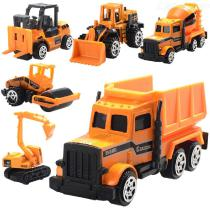 6PCS-164-Mini-Alloy-Inertia-Engineering-Car-Model-Educational-Toy-for-Kids