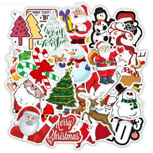 50PCS Christmas Stickers Set For Envelopes Gifts Tags Scraping Books