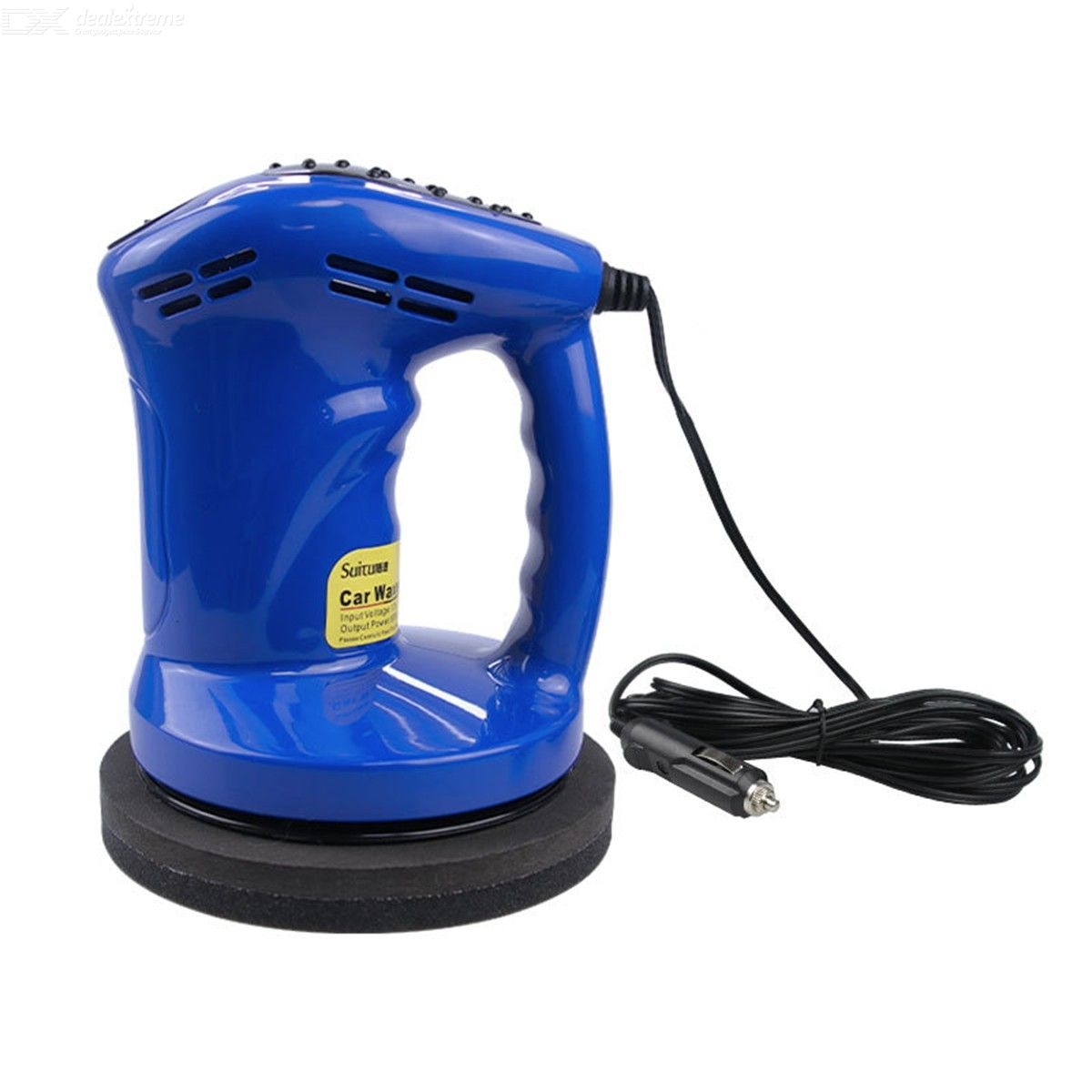 DC 12V Car Waxer Polisher Portable Handheld Waxing Kit With 1500RPM