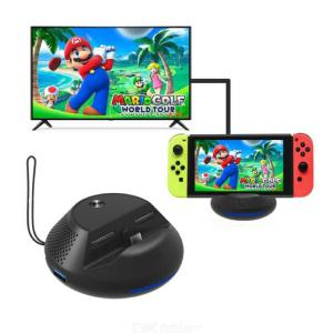Charging Dock For Nintendo Switch Portable Switch Replacement Charging TV Dock With PCB Board Cooling Structure HDMI Port