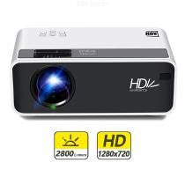 AUN D60 Portable HD LCD-projector Beamer Home Theater - US Plug