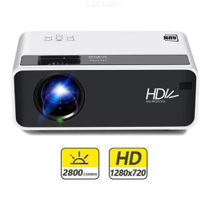 AUN D60 Portable HD LCD Projector Beamer Home Theater - US Plug