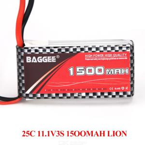 BAGGEE 3S 11.1V 1500mAh 25C LiPo Battery with XT60 Plug For RC Airplane Drone Boat