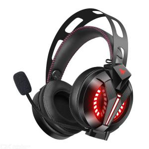 ONIKUMA M180Pro Professional PC Gaming Headset With Noise Cancelling Mic, 3.5mm Jack, RGB Backlit For Laptop PS4 More