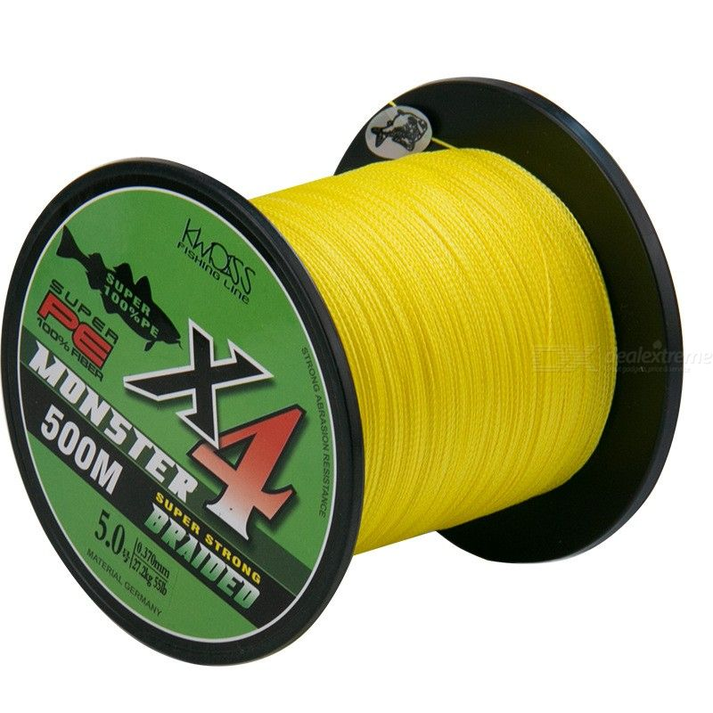 500M PE Super Strong 4 Strands Braided Fishing Line
