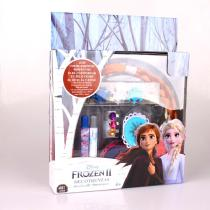 DISNEY-FROZEN-II-2-Hair-Decoration-Hairpin-Wig-with-Pen-for-Kids-Girl