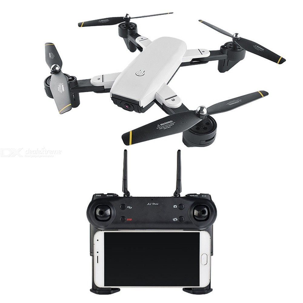 SG700 Foldable 4K GPS RC Drone Dual Camera WiFi FPV Quadcopter With LED Lights