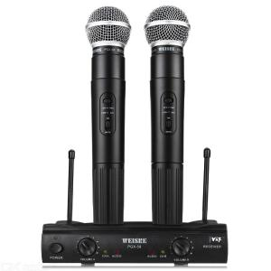 PGX-58 UHF Professional Wireless Microphone For BM 800 Karaoke Microphone Party KTV Studio - Black