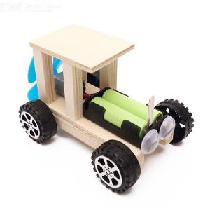 Kids Wooden Off Road Truck Puzzle Craft Toy DIY Self-made Kindergarten Education Toy