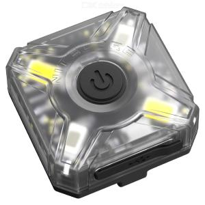 NITECORE NU05 Red White Dual Light Source Rechargeable Headlight Bicycle Warning Lamp