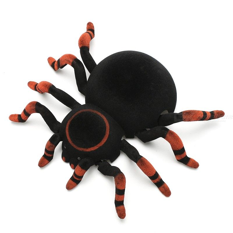 Wall Climbing Spider Remote Control Toys 2.4G RC Tarantula Kid Gift Toy Simulation Furry Electronic Spider Toy For Kids Boys