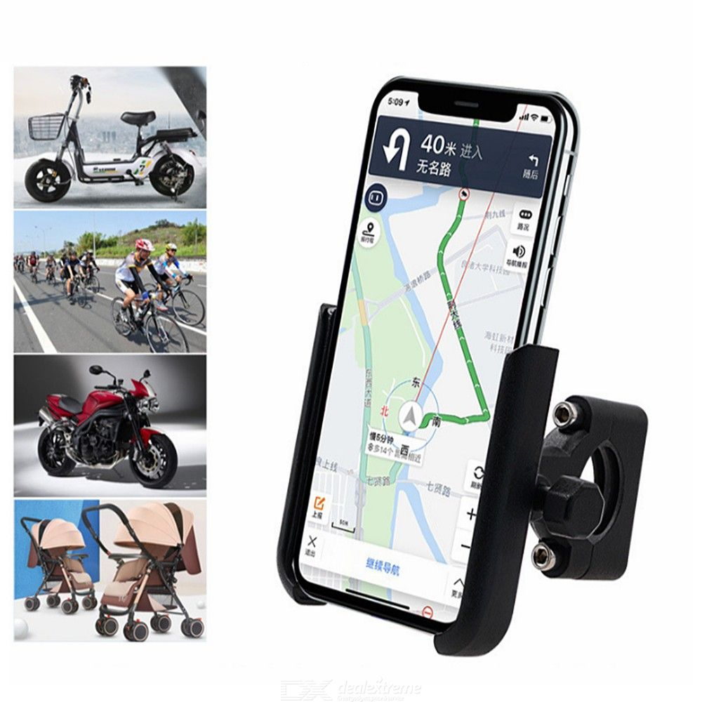 CS-856A Metal Motorcycle Phone Mount Universal Bike Cellphone Holder For Handlebar