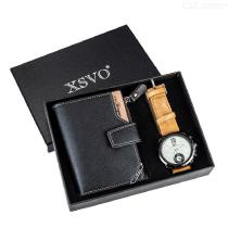 Mens-Wallet-Gift-Set-2-in-1-PU-Purse-Watch-Combo-For-Birthday-Christmas-Business