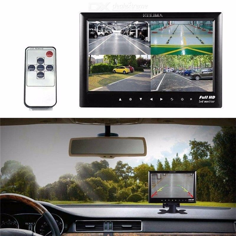 Kelima 7 inch Car Monitor Rear View Camera Bus Car Auto Parking Backup Reverse Monitor Night Vision