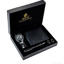 Mens-Business-Gift-Set-4-in-1-Wallet-Watch-Foundation-Pen-Cufflinks-Combo-For-Birthday-Chritsmas-Holidays