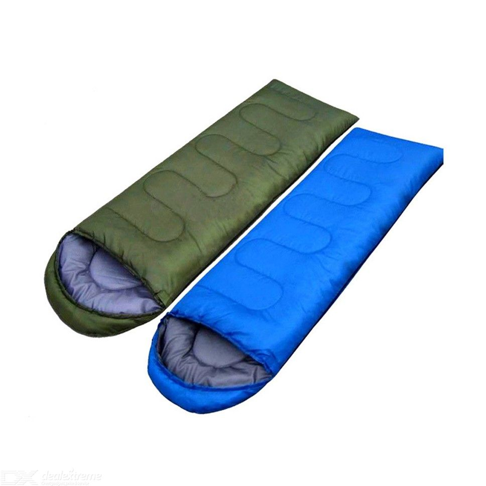 Camping Sleeping Bag 3 Season Single Camping Accessory For Warm Weather 180 X 75cm