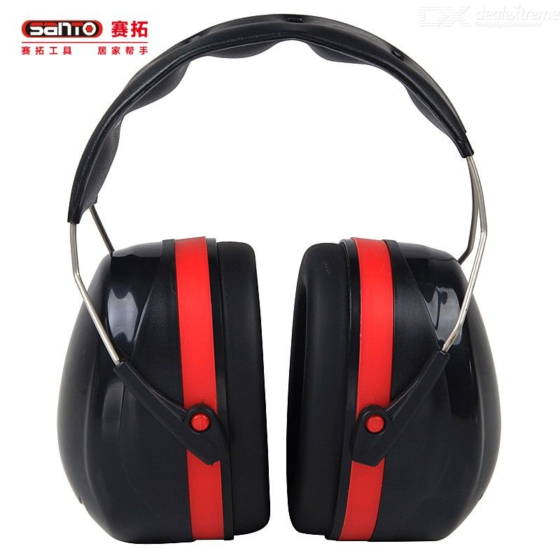SANTO 34dB Highest NRR Safety Ear Muffs Professional Ear Defenders for Shooting Ear Hearing Protection