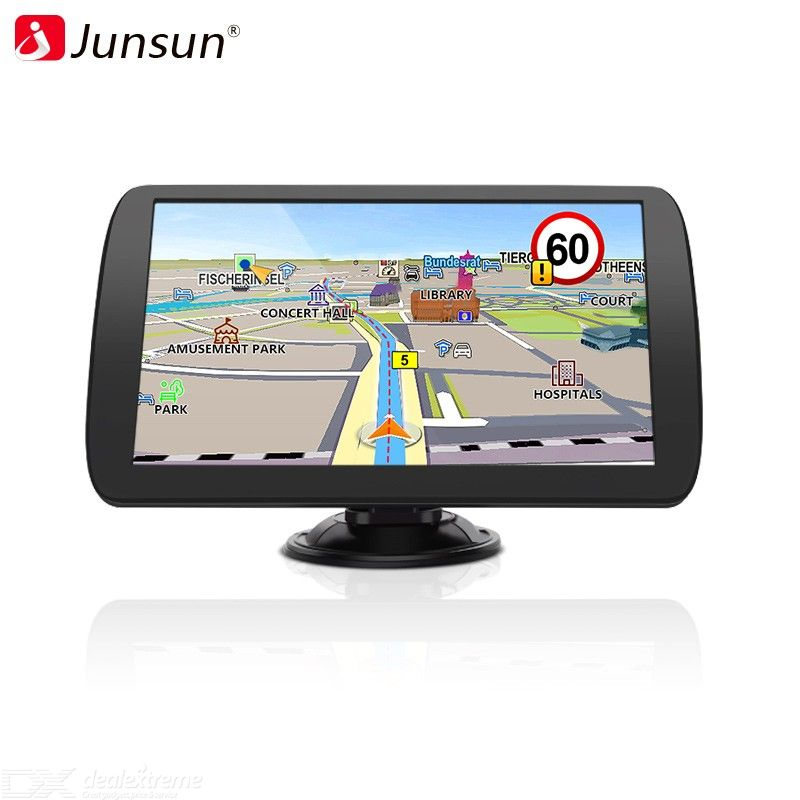 Junsun A9 HD 9 Inch Car GPS Navigation FM Bluetooth AVIN Navitel Latest Europe Map Sat nav Truck Gps Navigators Automobile