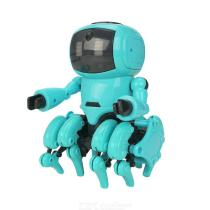 DIY-Assembled-Electric-Robot-Induction-Educational-Toy
