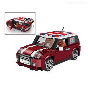LOZ Technic Mini Building Blocks Vehicle Assemable Educational Toys for Children mini Car Bricks Toys Police Truck Car