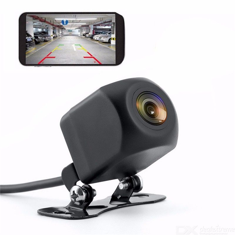 Quelima Car Wireless WIFI Reversing Camera HD Night Vision Wide-angle Waterproof Rear View cam