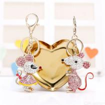 Fashion Cute Mouse Keychain Pendant​ Mini Exquisite Bag Hanging Ornament
