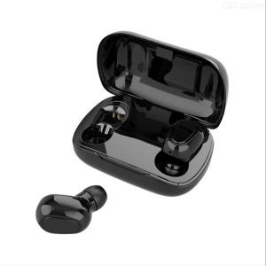 L21 TWS Bluetooth 5.0 Headset, Invisible Binaural Mini True Wireless Earbuds With Charging Box