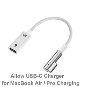 Type C to Magsafe1 Converter Cable 15cm USB C PD Power Adapter for Mag safe MacBook Air Pro 45W 60W 85W Fast Charging
