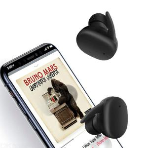 JEDX-DT7 Frosted Wireless Bluetooth Headset Dual-talk Stereo Hand-free Touch Earphones with Charging Box for Phone