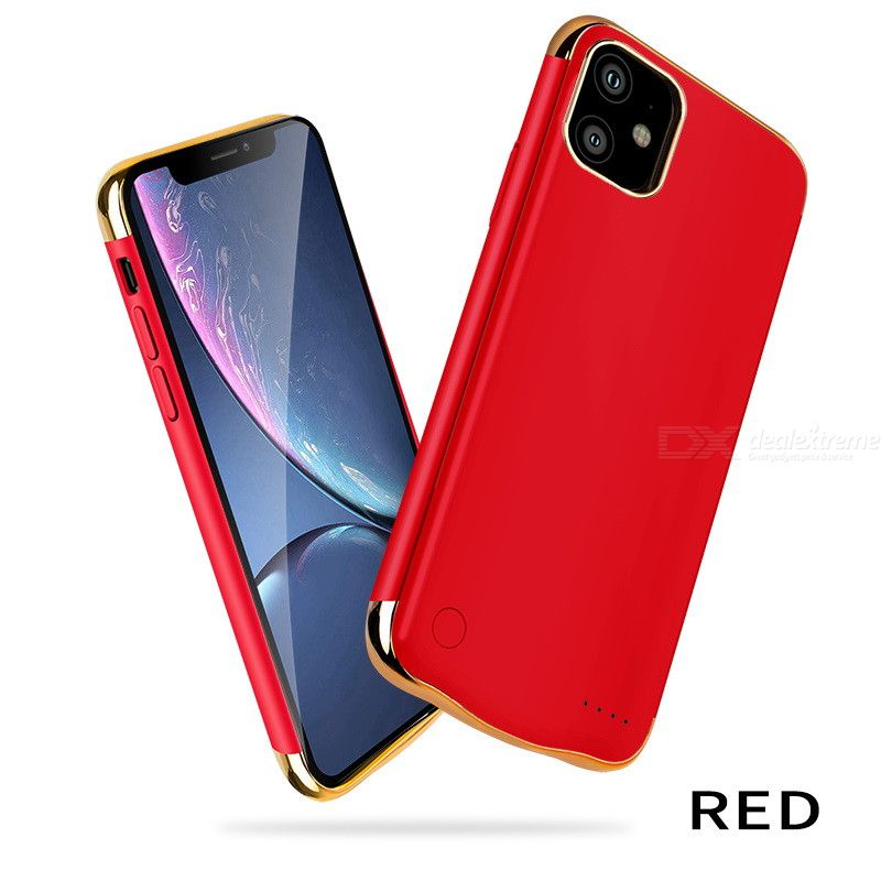 5000mAh Large Capacity Battery Case for iPhone 11 6.1 inch Rechargeable Backup Extended Battery Charger Case