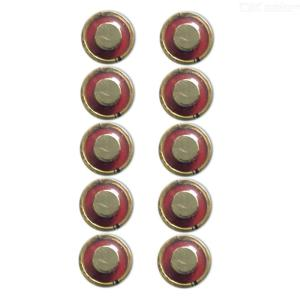 10Pcs 4LR44 Alkaline 6V Disposal Battery for Camera Security Alarms Remote Watch Toys