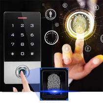 Waterproof-Touch-Metal-125khz-RFID-Fingerprint-Access-Control-Electronic-Door-Lock-Electric-Gate-Opener-with-Backlight