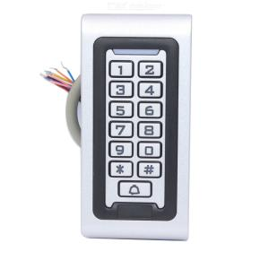 S601 Waterproof Backlight RFID Door Access Control Reader Keypad 1000 Users Door Bell, 125KHz EM Card Door Opener