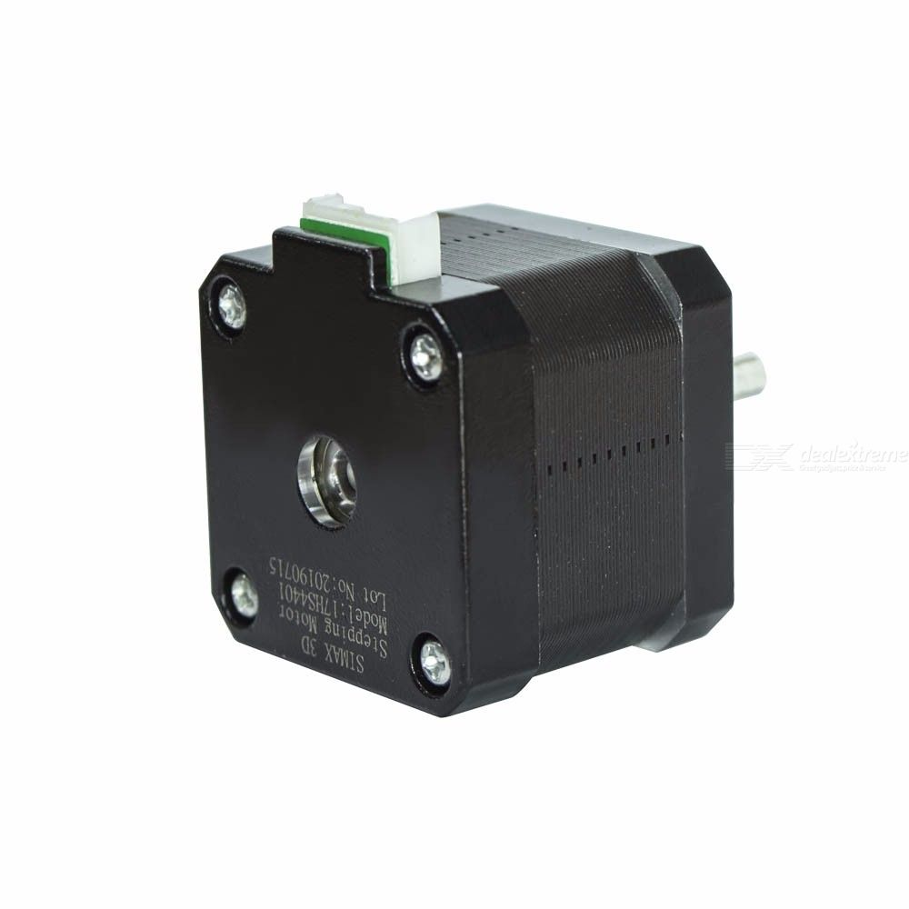 SIMAX3D Nema 17 Stepper Motor with 39.3 Inch Cable for Creality CR-10 10S Ender 3 Extruder and Y Axis Prusa i3 Delta Kossel