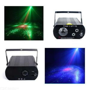 RGB Stage Laser Light LED Laser Disco Party Light Projector Sound Activated Laser Light