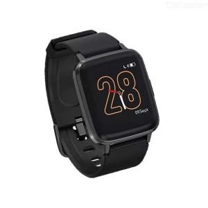 Xiaomi Mi Home Haylou Smart Watch Heart Rate Sleep Monitor 9 Sport Modes Passometer Weather Wristwatch - Chinese Version