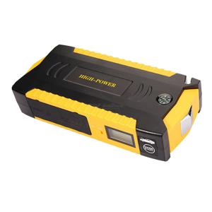 Portable LCD Display Car Jump Starter 12V 12000mAh LED Flashlight Emergency Battery Booster Multi-Function Power Bank Charger