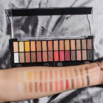 28 Colors Eyeshadow Palette Matte Eye Makeup Nudes Palett Matte Sunset Glitter Powder Rose Eye Shadow Set