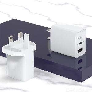 UM13 Fast Charger Block 5V/3A Wall Charger Support QC3.0 PD 18W Quick Charge Technology