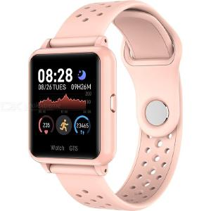 P8 Bluetooth Smart Watch 1.3 Inch HD IPS Touch Screen Heart Rate Blood Pressure Oxygen Monitor Pedometer Silicone Watches