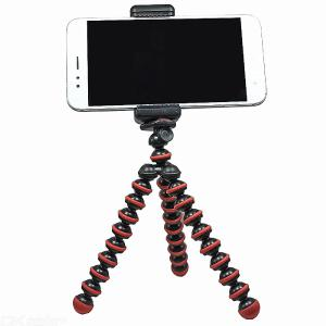 Mobile Phone / Camera Tripod Octopus Stand Can Deform with Mobile Phone Holder