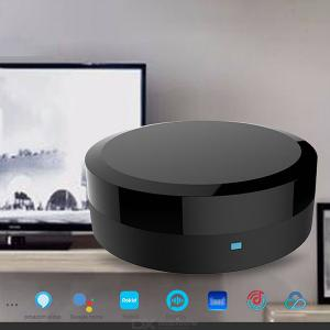 Universal IR Smart Remote Control WiFi Tuyu APP Phone Connection Compatoble Alexa, Google Assistant - Black