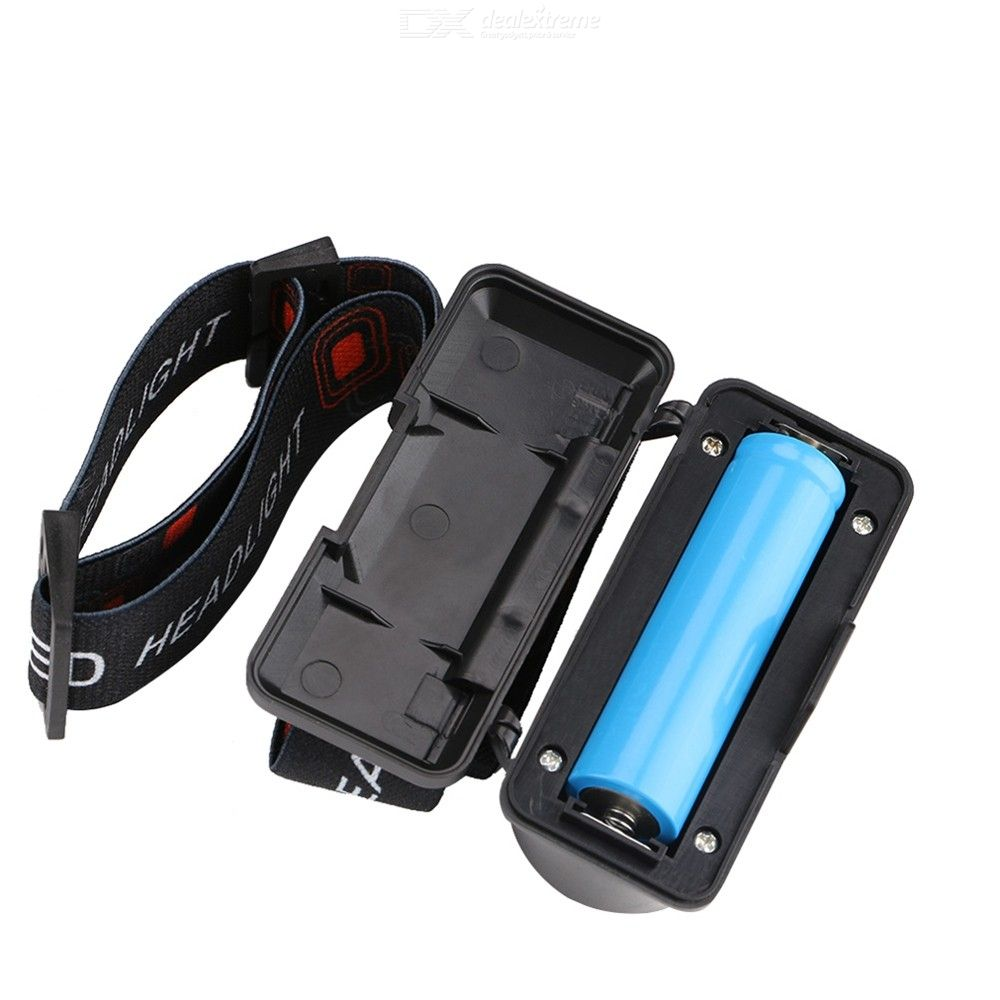 Portable USB Charging LED Headlamp for Outdoor Camping Hiking