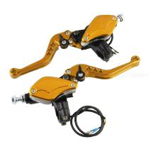 2PCS-Universal-Adjustable-Level-Handle-Hydraulic-Clutch-Motorcycle-Brake-With-Pump-Master-Cylinder