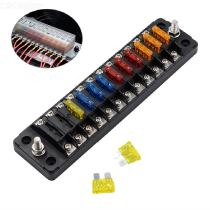 12-Way-Fuse-Block-ATOATC-Fuse-Box-With-24PCS-Fuse-Blades-And-Labels