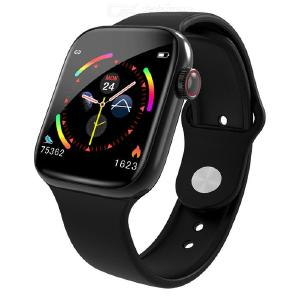 W4 Smart Watch 1.3-Inch 2.5D Curved Glass Touch Screen Smart Wristband Heart Rate Blood Pressure Monitoring Fitness Bracelet